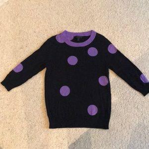 J. Crew 3/4 length merino wool sweater